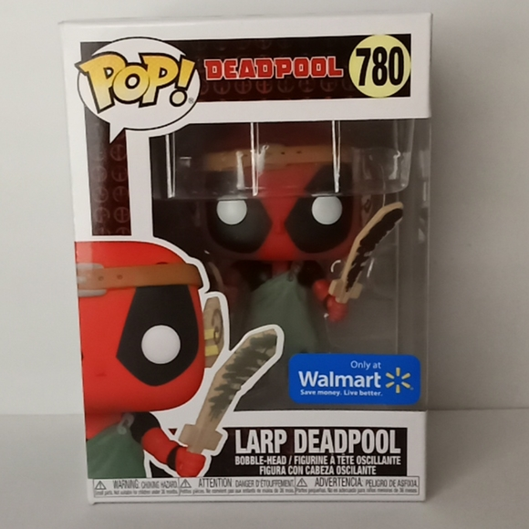 Larp Deadpool Funko Pop